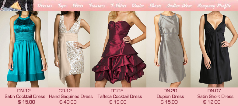 party dresses overseas